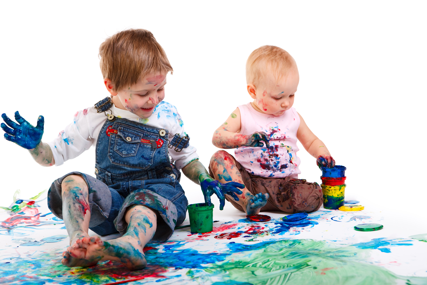 Los beneficios de la pintura para los niños - Pekelandia